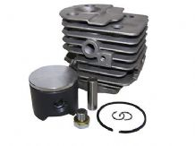 HUSQVARNA 51 CYLINDER AND TEFLON  PISTON ASSEMBLY (45MM) NEW 12 MONTH WARRANTY
